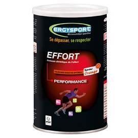 ERGYSPORT EFFORT POUDRE 450 gr maintien de la performance