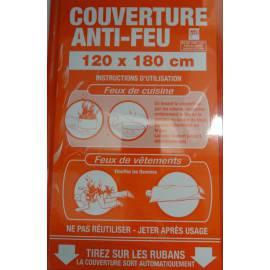 COUVERTURE ANTI FEU 180*120 protection en cas d'incendie