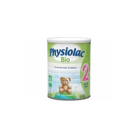 PHYSIOLAC BIO 2EME AGE proche du lait maternel