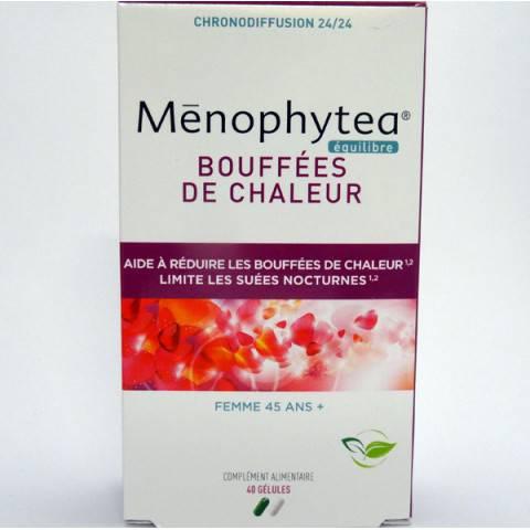 MENOPHYTEA reduire les bouffées de chaleur