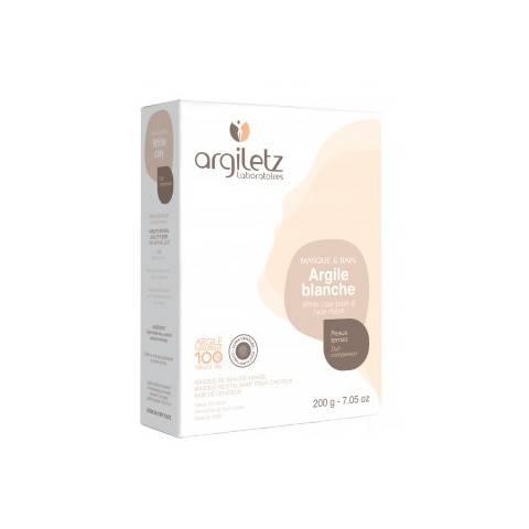 ARGILE BLANCHE POUDRE peau sensible ou terne