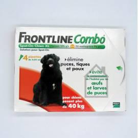 FRONTLINE COMBO CHIEN XL + 40 KG