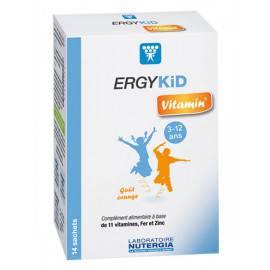 ERGYKID VITAMIN  - 3 à 12 ans vitamines et minéraux