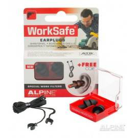 ALPINE WORKSAFE - BOUCHONS D'OREILLES lésions auditives