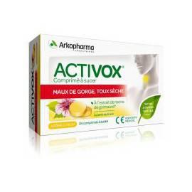 ACTIVOX TOUX SECHE Comprimé