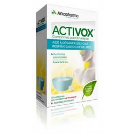 ACTIVOX  INHALATION libère les voies respiratoires