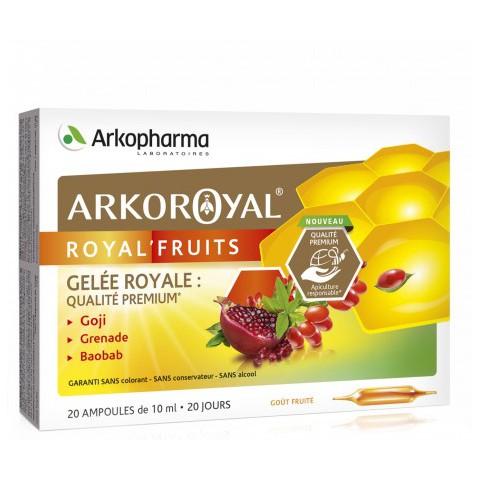 ARKOROYAL ROYAL'FRUITS retrouver votre énergie -Pharmacie verte