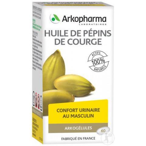 ARKOGELULES PEPINS DE COURGE confort urinaire et prostate