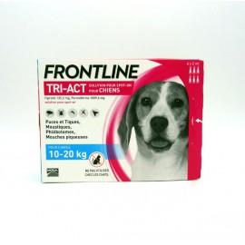 FRONTLINE TRI-ACT CHIEN 10 à 20kg 6 Pipettes