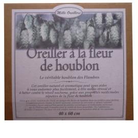 OREILLER A LA FLEUR DE HOUBLON