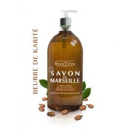 SAVON LIQUIDE DE MARSEILLE - BEURRE DE KARITÉ