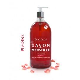 SAVON LIQUIDE DE MARSEILLE  - PIVOINE