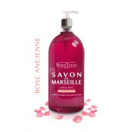 SAVON LIQUIDE DE MARSEILLE - ROSE ANCIENNE