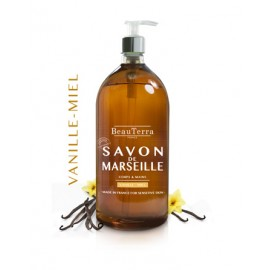 SAVON LIQUIDE DE MARSEILLE - VANILLE - MIEL