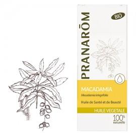 MACADAMIA Huile végétale bio  Pranarom 50 ml