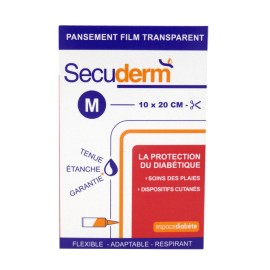 SECUDERM PANSEMENT FILM TRANSPARENT Taille M