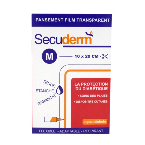 SECUDERM PANSEMENT FILM TRANSPARENT Taille M