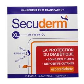 SECUDERM PANSEMENT FILM TRANSPARENT Taille XL