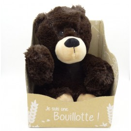 BOUILLOTTE OURS BRUN