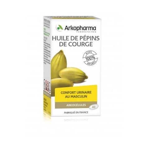 ARKOGELULES PEPINS DE COURGE 180 gélules confort urinaire