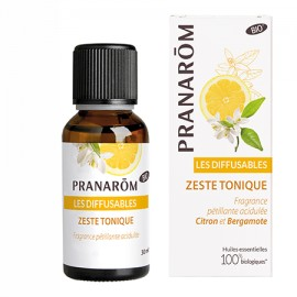 PRANAROM LES DIFFUSABLES H. E. ZESTE TONIQUE pranarom 30 ml
