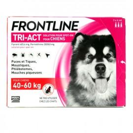 FRONTLINE TRI-ACT CHIEN 40 à 60 kg 3 Pipettes