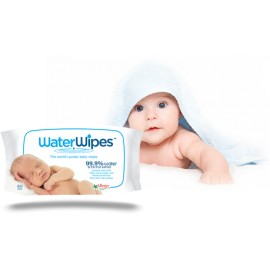 WATERWIPES LINGETTES NETTOYANTES BB 4 X 60