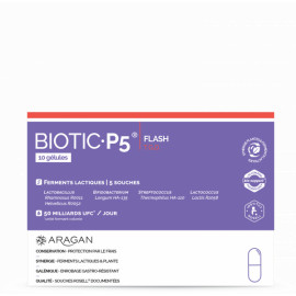 ARAGAN BIOTIC P5 FLASH BTE DE 10
