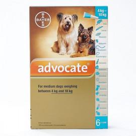 ADVOCATE chien 4-10 kg boite de 3 pipettes