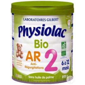 PHYSIOLAC BIO AR 2ème Age Anti régurgitations