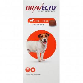 BRAVECTO Chien 4.5 à 10 kg Boite 1 comprimé à croquer