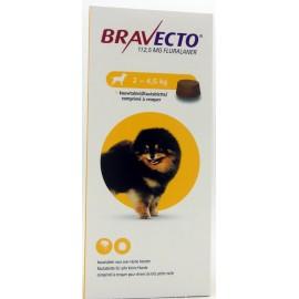 BRAVECTO chien 2-4,5 kg Boite de 2 comprimés à croquer