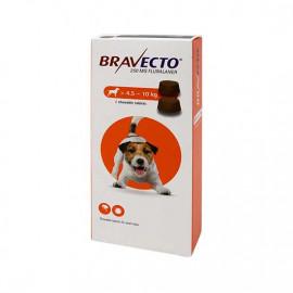BRAVECTO Chien 4,5 à 10 kg Boite 2 Comprimés à croquer