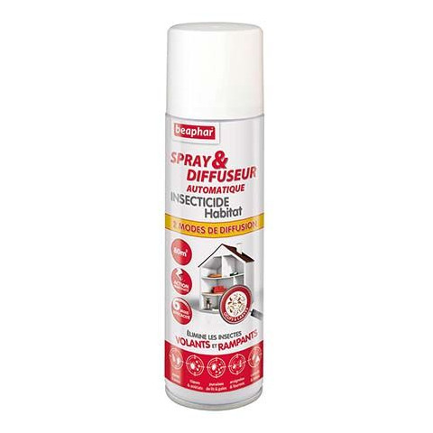 BEAPHAR Spray diff auto insect habitat 500ml