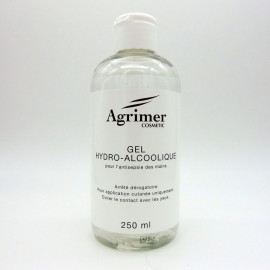 GEL HYDRO-ALCOOLIQUE AGRIMER 250ML