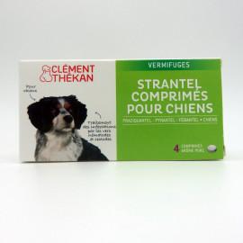 STRANTEL CHIENS - 4 COMPRIMES