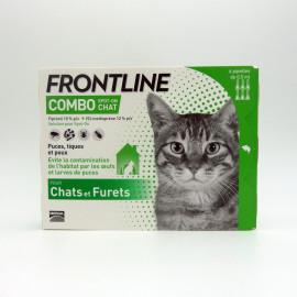 FRONTLINE COMBO CHAT et FURET 6 pipettes