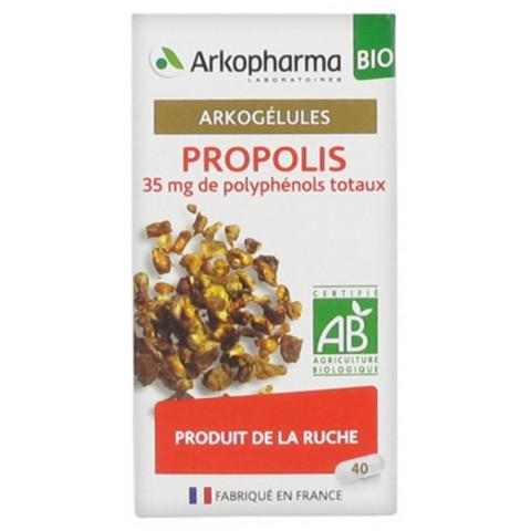 ARKOGELULES PROPOLIS bio stimule les défenses immunitaires
