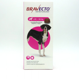 BRAVECTO Chien 40-56 kg Boite 1 Comprimé à croquer