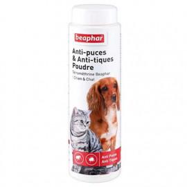 BEAPHAR Poudre à la TETRAMETHRINE antiparasitaire chien et chat 150 G