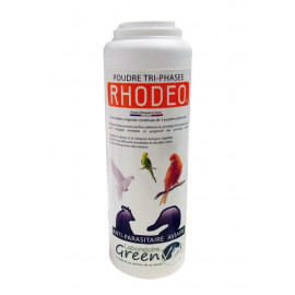 RHODEO anti-parasitaire aviaire Poudre tri-phasée 250g