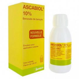 ASCABIOL 10% traitement de la gale émulsion 125ml