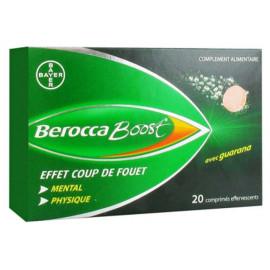 BEROCCA BOOST 20 comprimés effervescent