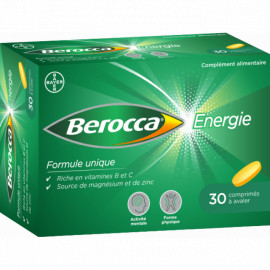 BEROCCA Energie Boite de 30 comprimés pelliculés.