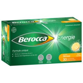 BEROCCA Energie Boite de 30 comprimés effervescents