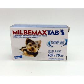 MILBEMAXTAB Petit chien et CHIOT 2 Comprimés