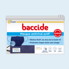 MASQUE antiviral actif Baccide