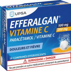 EFFERALGAN VIT C CPR EFFV 2X8