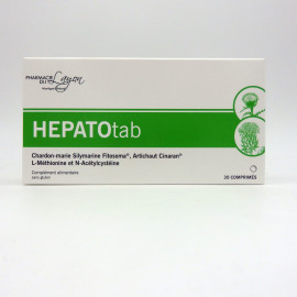 HEPATOTAB La pharmacie du layon Boite de 30 comprimés