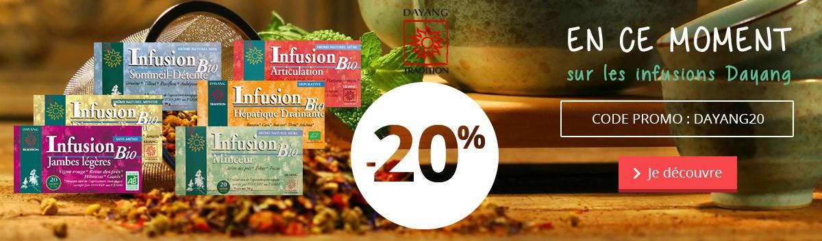 -20% sur les infusions Bio